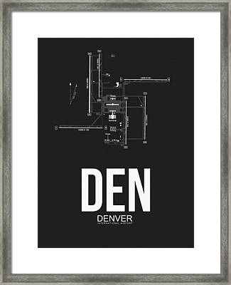 Denver Airport Poster 1 Framed Print