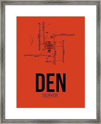 Denver Airport Poster 2 Framed Print