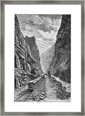 Denver And Rio Grande Railroad Framed Print by Cci Archives