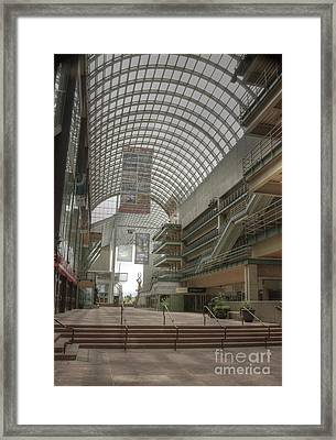 Denver Arts Complex Framed Print