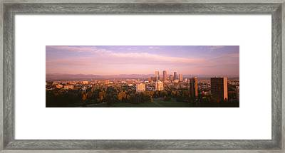 Denver Co Framed Print