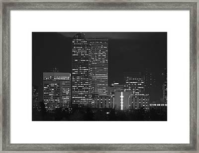 Denver Downtown  Framed Print