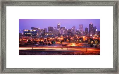 Denver Dreams Framed Print by Darren  White