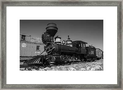 Denver Leadville And Gunnison 191 Black White Framed Print by Tim Mulina