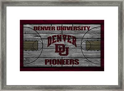 Denver Pioneers Framed Print