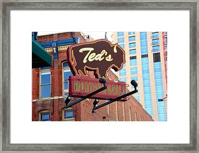 Denver - Ted's Montana Grill Framed Print