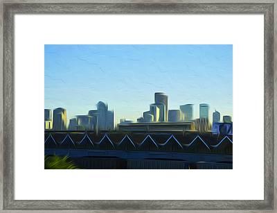 Denver V2 Framed Print
