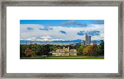 Denver's City Park Framed Print