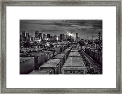 Denver's Underbelly Framed Print