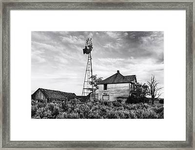 Departed Framed Print by Mark Kiver