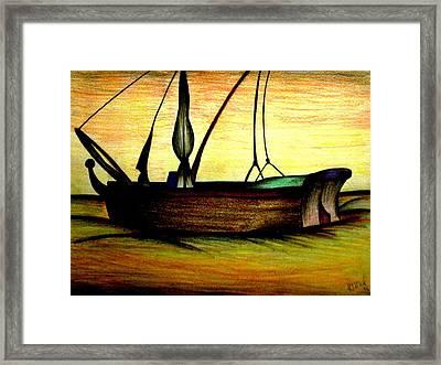 Departed Framed Print by Ritika  Nair