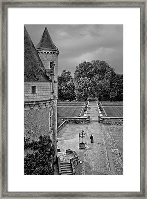 Departure - Chenonceau Framed Print