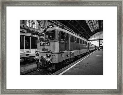 Departure From Budapest Framed Print