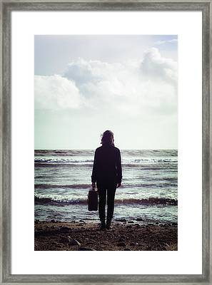 Departure Framed Print by Joana Kruse