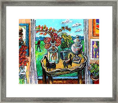 Departure Framed Print by Stan Esson