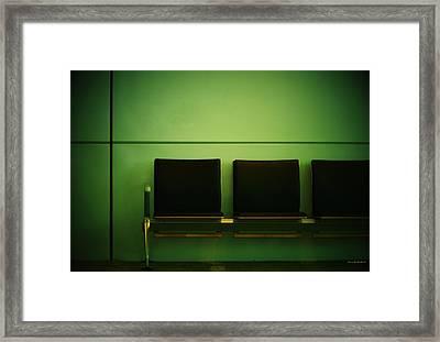 Departure Framed Print by Steve Godleski