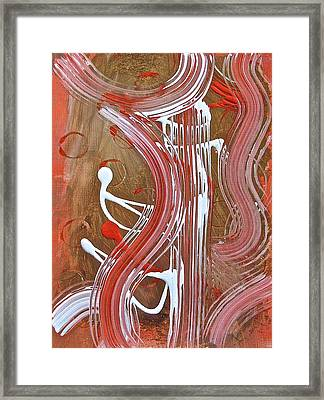 Departures V4 Framed Print by Tracey Myers