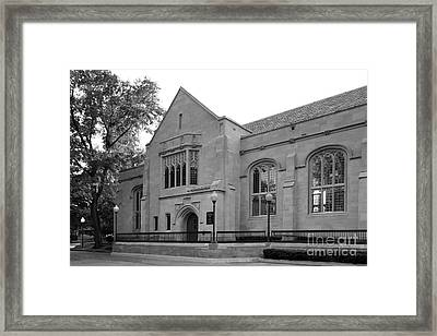 Depaul University Cortelyou Commons Framed Print by University Icons