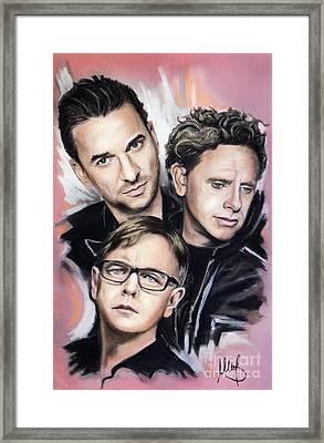 Depeche Mode Framed Print