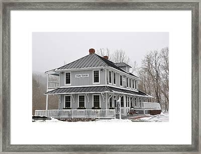 Depot Lodge Framed Print by Todd Hostetter