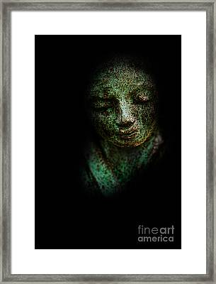 Framed Print featuring the photograph Depression by Lee Dos Santos