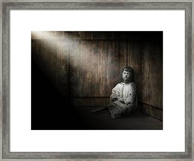 Depression Framed Print by Daniel Hagerman