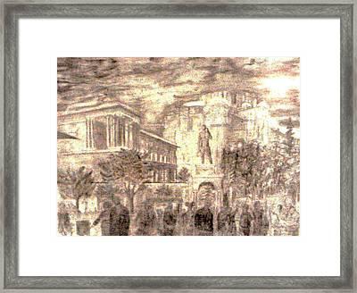 Depression Framed Print by George Harrison