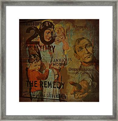 Depression In The 20th Century - 2 Framed Print