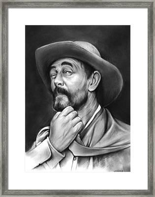 Deputy Festus Haggen Framed Print by Greg Joens