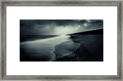 Der [ Angler ] Framed Print