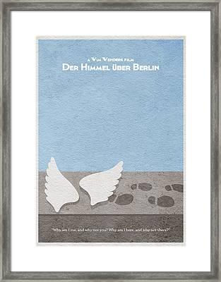 Der Himmel Uber Berlin  Wings Of Desire Framed Print by Ayse Deniz