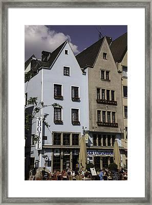 Der Lowenbrau Cologne Framed Print by Teresa Mucha