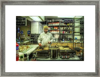 Derby Pyclet And Oat Cakes Framed Print by Yhun Suarez