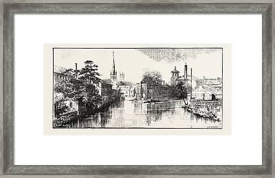 Derby The Old Silk Mill Framed Print