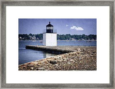 Derby Wharf Light Framed Print