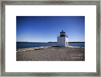 Derby Wharf Lighthouse Framed Print