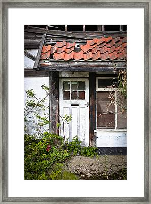 Derelict Cottage Framed Print by Tom Gowanlock