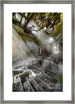 Derelict Room Framed Print