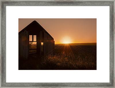 Derelict Shed Framed Print by Svetlana Sewell