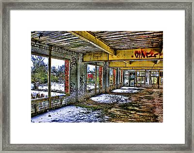 Derilict Framed Print by Trevor Kersley