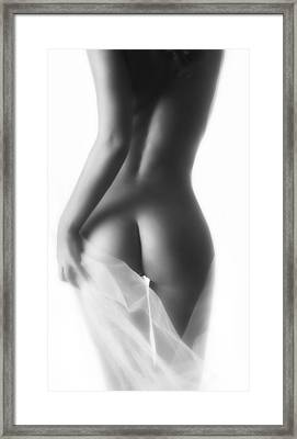Derriere Framed Print by Naman Imagery