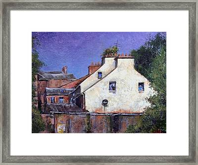 Derry Gables Framed Print