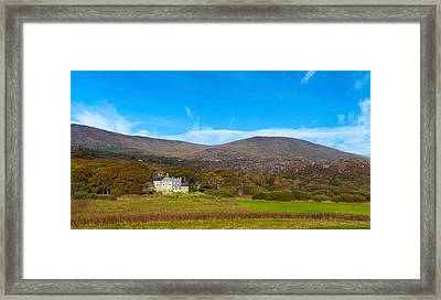 Derrynane House The Home Of Daniel Framed Print by Panoramic Images