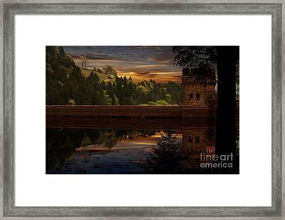 Derwent Dam Reflections Framed Print by Nigel Hatton