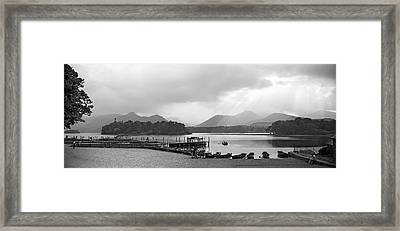 Derwent Water In The Lake District Of England Framed Print by David Murphy