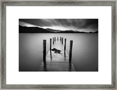 Derwent Water Jetty Framed Print