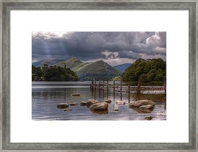 Derwent Water Towards Catsbells Framed Print