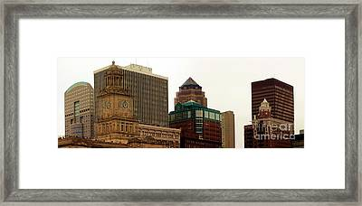 Des Moines Framed Print