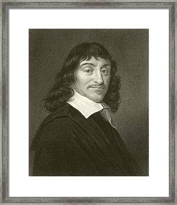 Descartes Framed Print by English School