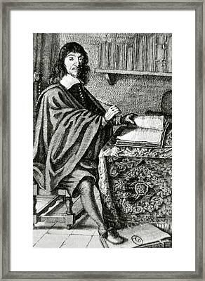 Descartes, Rene (la Haye, Touraine Framed Print by Prisma Archivo